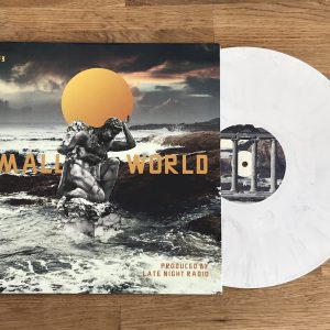 """Small World"" Prod by LNR – 12″ LP-  Limited Edition Marble Colored Vinyl w/ 11 x 17 Lyric Poster"