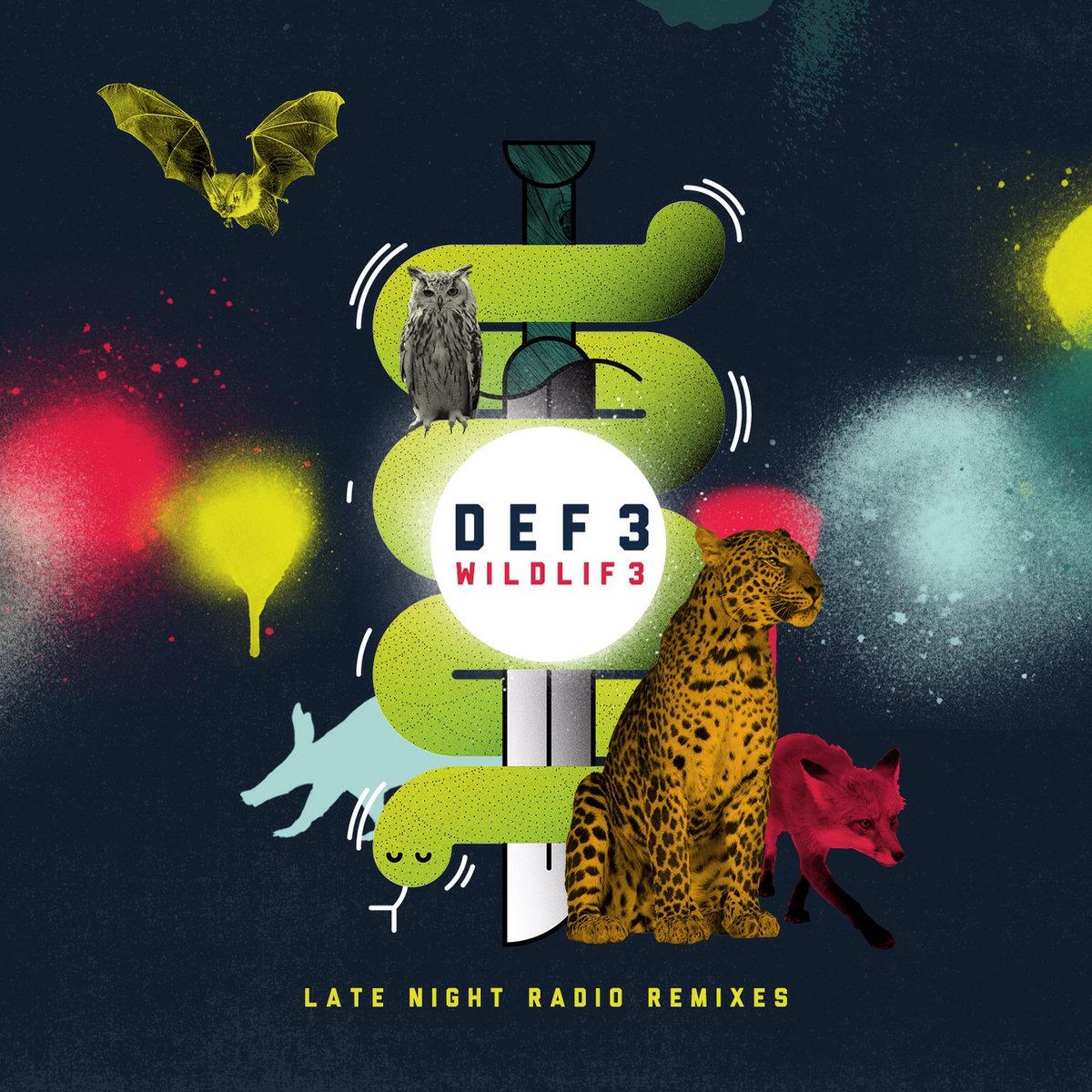 Def3 - Wildlife Remixes